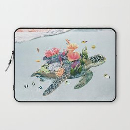 Coral Turtle • Save the Planet Laptop Sleeve