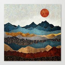 Amber Dusk Canvas Print