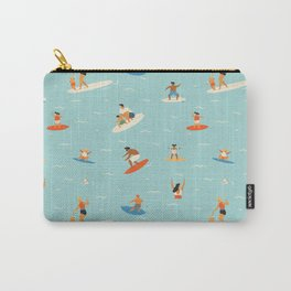 Surfing kids Carry-All Pouch