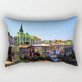 Cerro Conception, Valparaiso, Chile Rectangular Pillow