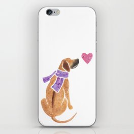 Watercolour Rhodesian Ridgeback iPhone Skin