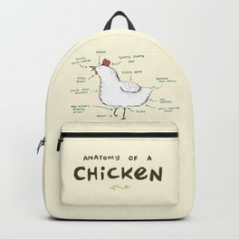 Anatomy of a Chicken Backpack