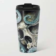 Please my love, don't die so far from the sea... Metal Travel Mug