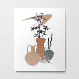 Pots Galore Metal Print