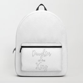 Christian Design - Daughter of the King Backpack