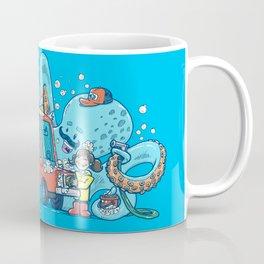 Octopus Carwash Coffee Mug