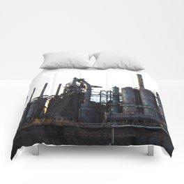 Bethlehem Steel Blast Furnaces 2 Comforters