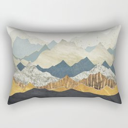 Distant Peaks Rectangular Pillow