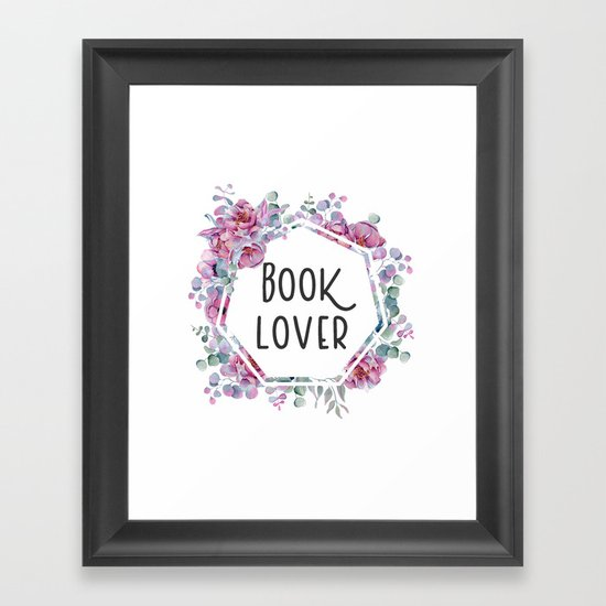Book Lover - Floral Design by kimcarlika