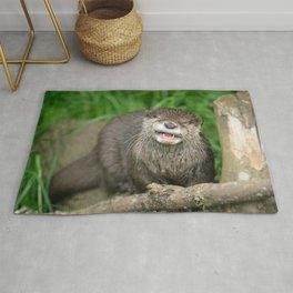 Smiling Otter Rug