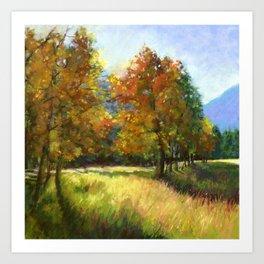 Mt. Princeton Golden Hour Art Print