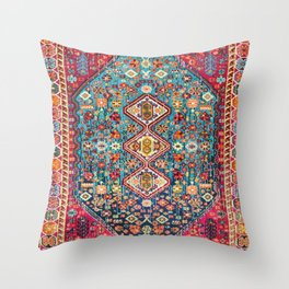 Heritage Oriental Boho Moroccan Style Design ART Throw Pillow