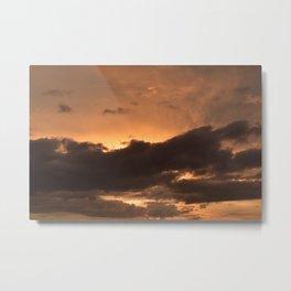 Costa Rican Sunset Metal Print