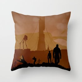 Half Life Throw Pillow