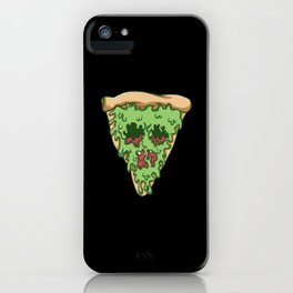 Zombie Pizza. - Gift iPhone Case