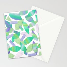 Leaf Litter (bright) Stationery Cards