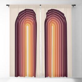 Gradient Arch - Sunset Blackout Curtain