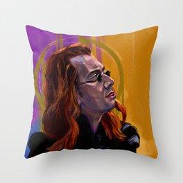 Shakespearean Crowley Throw Pillow