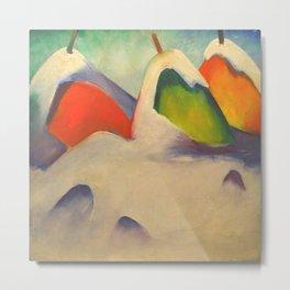 "Franz Marc ""Haystacks in the Snow"" Metal Print"