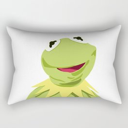 Kermit - The Optimistic Frog Rectangular Pillow