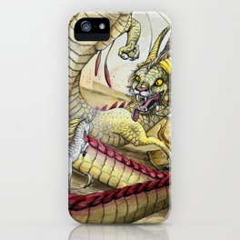 The Dragon and The Kirin iPhone Case