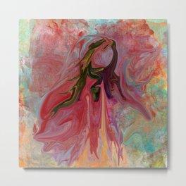 Abstract Angel Metal Print
