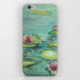 """lilies in July"" iPhone Skin"