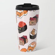 Sushi Persian Cat Travel Mug