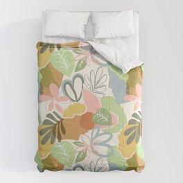 Woman nature pattern Comforters