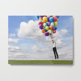 Never stop dreaming about possibilities Metal Print