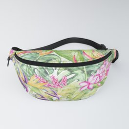 Tropical Garden 1A #society6 Fanny Pack