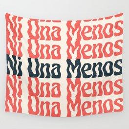 Ni Una Menos Wall Tapestry