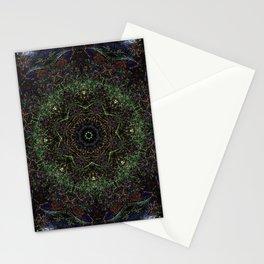 Spring Stream Fractal I Stationery Cards