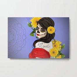 Love after Death Metal Print
