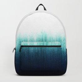 Teal Ombré Backpack