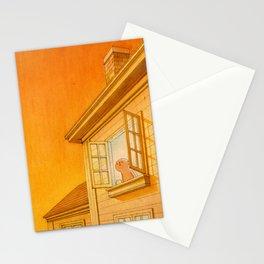 Wildfire Orange Stationery Cards