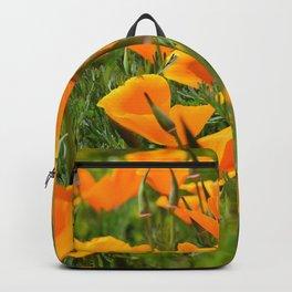 California Poppies Super Bloom Backpack