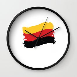 i'm not yelling i'm german germany Wall Clock