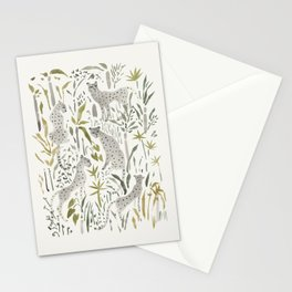 Grey Cheetahs Stationery Cards