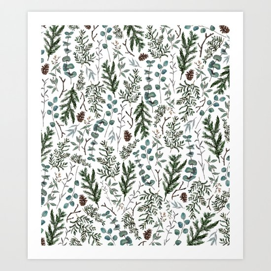 Pine and Eucalyptus Greenery by thekindredpines