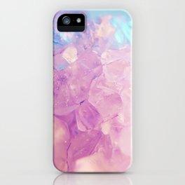 Purple Spiritual Quartz Crystal iPhone Case