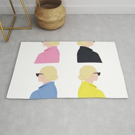 girl blond / girls / chica rubia / chicas / colores Rug