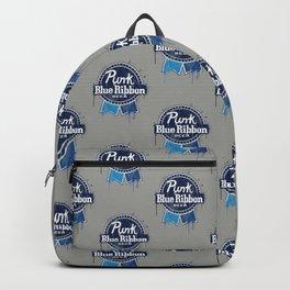 Punk Blue Ribbon Beer Backpack