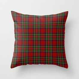 The Royal Stewart Tartan Throw Pillow