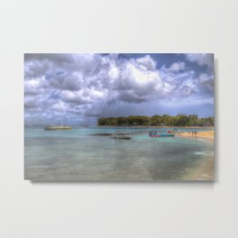 Barbados Summer Beach Metal Print