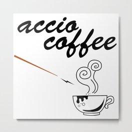 ACCIO COFFEE Metal Print