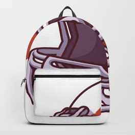 Football Helmets Backpack