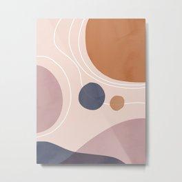 Abstrct Landscape Metal Print