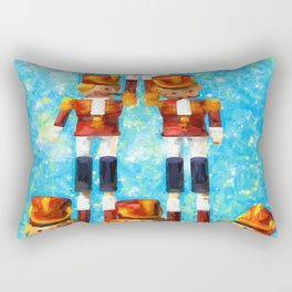 Toy Soldiers Rectangular Pillow