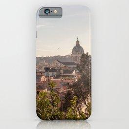 The roof of Rome (I tetti di Roma) iPhone Case